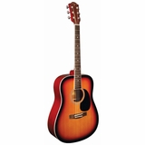 Indiana Dreadnought Spruce Top Tobacco Burst