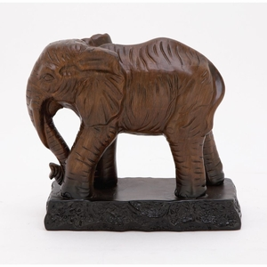 Innovative Ceramic Elephant - 50728 by Benzara