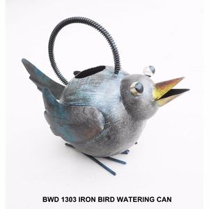 Iron Bird Watering Can by D Art Collection