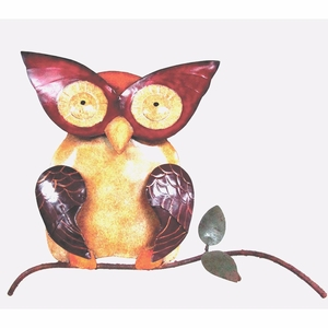 Iron Owl Wall Decor by D Art Collection