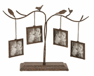 Metal Photo Frame  Unique Home Accents - 55872 by Benzara