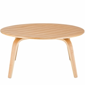 Isabella Coffee Table in Natural by EdgeMod