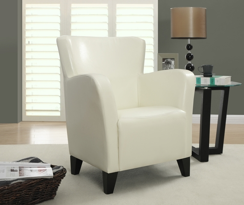 Monarch specialties inc mhs i 8069 ivory leather look club for Wild orchid furniture