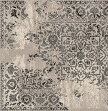 Jabbah Contemporary Rug, Ivory Charcoal