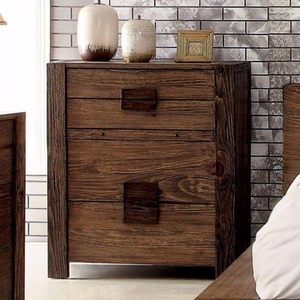 Janeiro Theia Chest, Transitional Style, Rustic Natural Tone