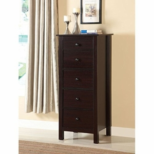 Jene 5-Drawer Compact Vertical Chest