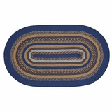 Jenson Jute Rug Oval 27x48 - 25905 by VHC Brands