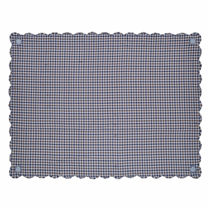 Jenson Scalloped Table Cloth 60x80 - 25586 by VHC Brands