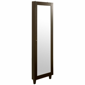 Jodie Wall Mount Jewelry Cabinet Mirror