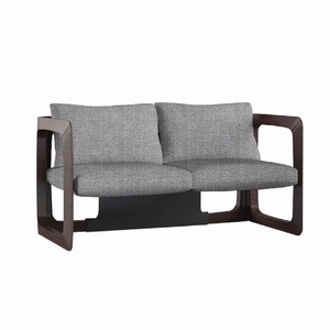 K Contemporary Fabric Upholstered Wood Frame