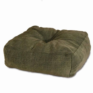 K&H Pet Products Cuddle Cube Pet Bed Small Green 24x 24x 12 Inch