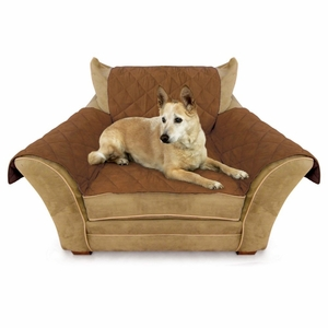K&H Pet Products Furniture Cover Chair Mocha 22x26seat, 42x47back, 22x26side arms
