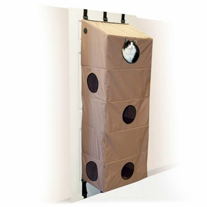 K&H Pet Products Hangin Cat Condo Large Tan 23x 16x 65 Inch