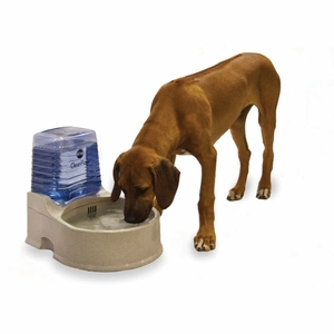 K&H Pet Products KH2530 Clean Flow Pet Bowl with Reservoir
