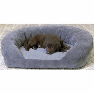 K&H Pet Products KH4722 Ortho Bolster Sleeper Pet Bed
