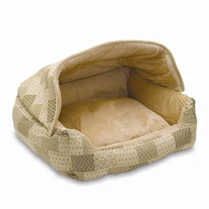 K&H Pet Products KH7600 Lounge Sleeper Hooded Pet Bed