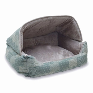 K&H Pet Products KH7610 Lounge Sleeper Hooded Pet Bed