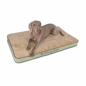 """K&H Pet Products Memory Sleeper Pet Bed Large Sage 29"""" x 45"""" x 3.75"""""""
