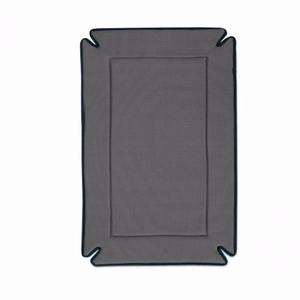 """K&H Pet Products Odor-Control Dog Crate Pad Gray 14"""" x 22"""" x 0.5"""""""