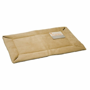 K&H Pet Products Self-Warming Crate Pad Medium Tan 21x 31x 0.5 Inch