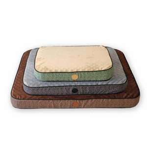 K&H Pet Products Superior Orthopedic Pet Bed Small Mocha 20x 30x 5 Inch