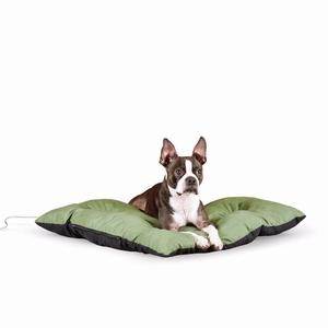 """K&H Pet Products Thermo-Cushion Pet Bed Medium Sage 26"""" x 29"""" x 3"""""""