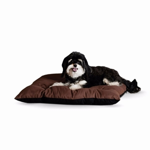 "K&H Pet Products Thermo-Cushion Pet Bed Small Chocolate 19"" x 24"" x 3"""
