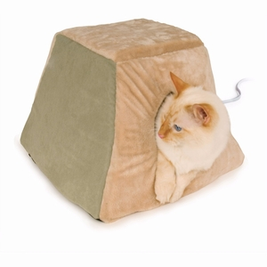 """K&H Pet Products Thermo Kitty Cabin Sage 16"""" x 16"""" x 13"""""""