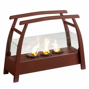 Kanto Portable Indoor/Outdoor Gel Fuel Fireplace by Southern Enterprises