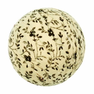 "Kettle Grove Fabric Ball #6-2.5"" Set of 6"
