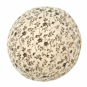 "Kettle Grove Fabric Ball #6-4"" Set of 3"