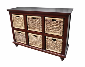 Krapina Six-Basket Chest, Aesthetic And Stupendous Home Utility