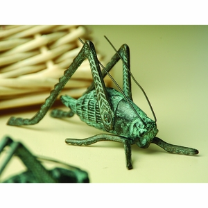Large Cricket Home Decor Item in Antique Finish by SPI-HOME