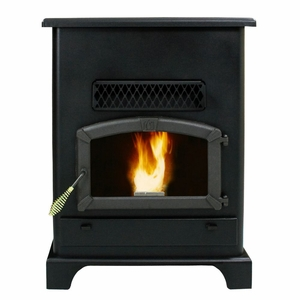 Large Pellet Heater With Ash Pan by US Stove