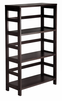 Leo 3 Tier Stylish and Grand Wide Shelf/Storage by Winsome Woods