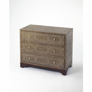 Butler Light Brown Console Chest