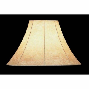 Lite Source CH116-16 Faux Leather Bell Shade