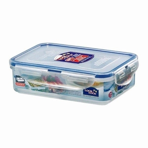 Lock&lock RECT. Short Food Container 550ml W/ Divider