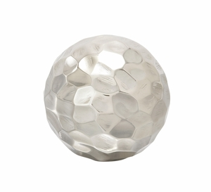 """Lovely and Exclusive Shiny Metal Orb 4""""D - 68861 by Benzara"""