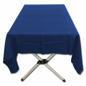 Lovely Navy Polyester Poplin Tablecloth by TAIB