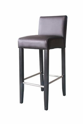 4D Concepts Low Back Barstool with Elegant Smooth Design