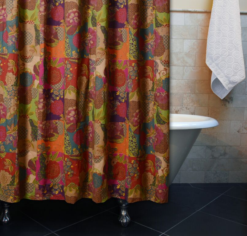 Magnificent Multi Colored Shower Curtain Images   The Best Bathroom .