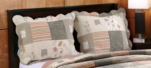 Greenland Home Fashions Marquis Collection Sedona Multi Color Standard Sham