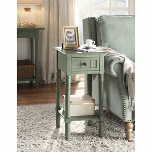 4D Concepts Simplicity End Table (Green)