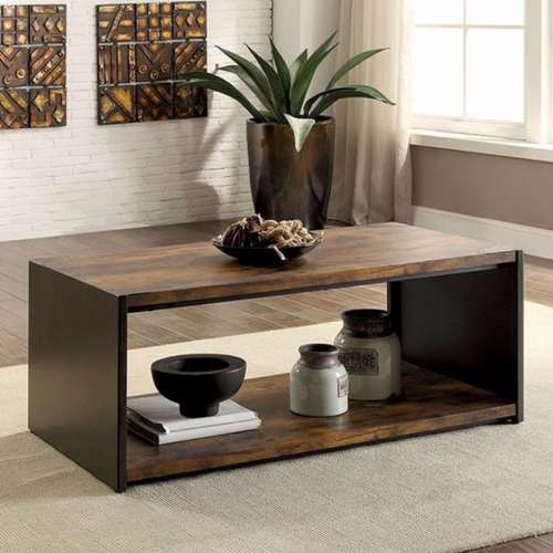 Buy matte black coffee table at for Wild orchid furniture