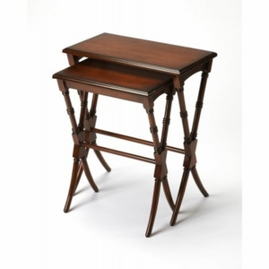 Medium Brown Nesting Tables - 3616011 by BUTLER