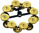 Meinl Percussion Headliner Series Hi-Hat Tambourine With Double Row Hammere Jingles