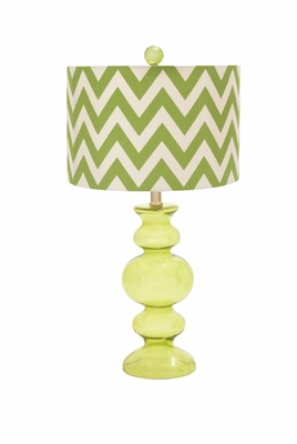 Mesmerizing Classy Styled Glass Table Lamp - 97350 by Benzara