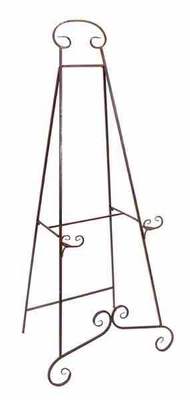 Metal Heavy Duty Easel 32 Inches Wide - 63262 by Benzara