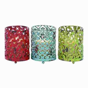 Candle Holder With Long Lasting Construction - Set Of 3 - 34894 by Benzara